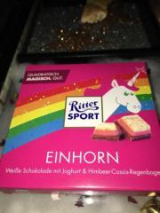 Ritter Sport Einhornschokolade