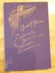 Rudolf Steiner: Esoterische