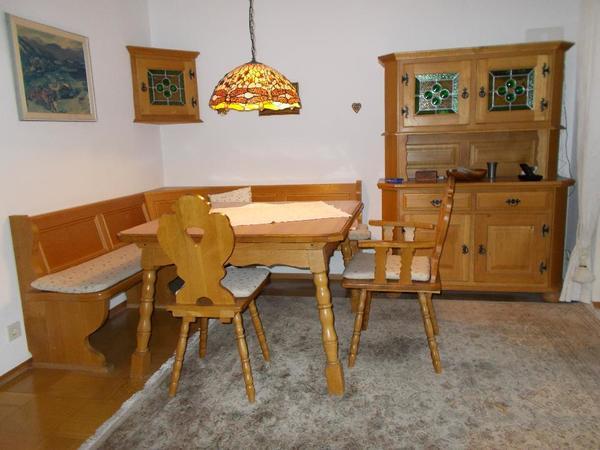 essecke rustikal kaufen gebraucht und g nstig. Black Bedroom Furniture Sets. Home Design Ideas