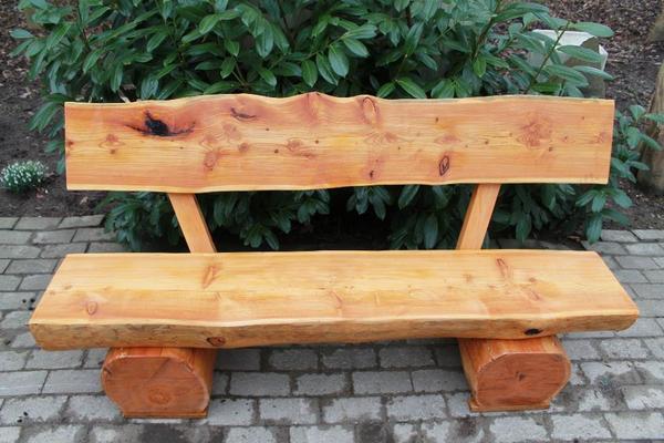 Hagebaumarkt Gartenmobel Angebote : Pin Rustikale Gartenbank Aus Massivholz on Pinterest