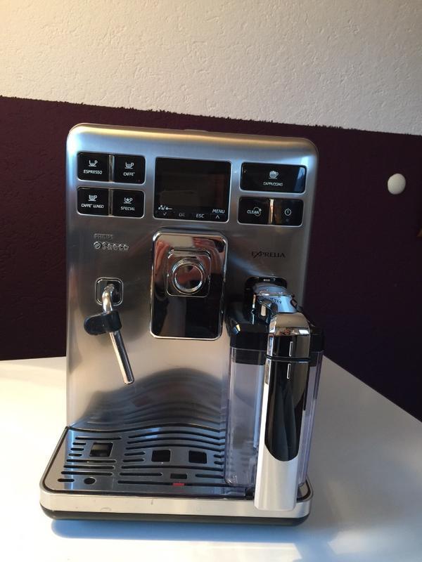 saeco philips kaffee vollautomat in ismaning kaffee. Black Bedroom Furniture Sets. Home Design Ideas