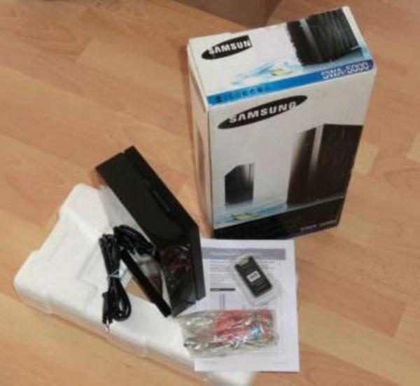 samsung swa 5000 wireless rear modul f r heimkinosysteme in dielheim boxen lautsprecher. Black Bedroom Furniture Sets. Home Design Ideas