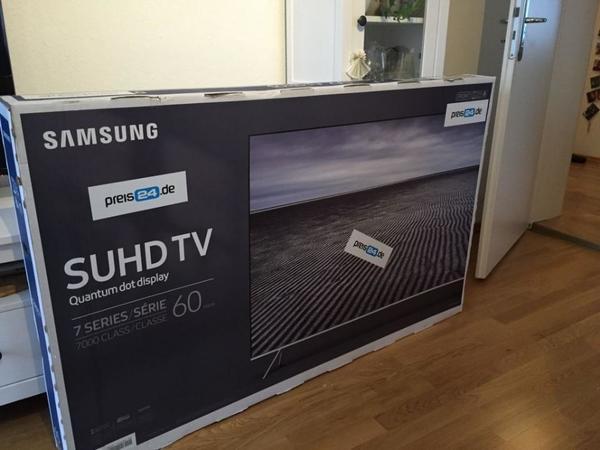 samsung ue60ks7090 60 zoll tv suhd 4k neu ovp garantie. Black Bedroom Furniture Sets. Home Design Ideas