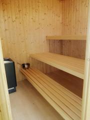 Sauna inkl. Ofen