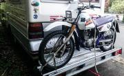 Sawiko Motorrad / Fahrradbühne