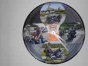 Schallplatten-Uhr, die