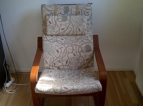 schicker po ng sessel zu verkaufen in n rnberg ikea m bel kaufen und verkaufen ber private. Black Bedroom Furniture Sets. Home Design Ideas
