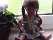 Schildkröt Puppe 50er