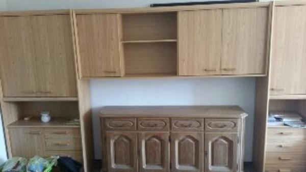 2m bett neu und gebraucht kaufen bei for Wohnwand schrank