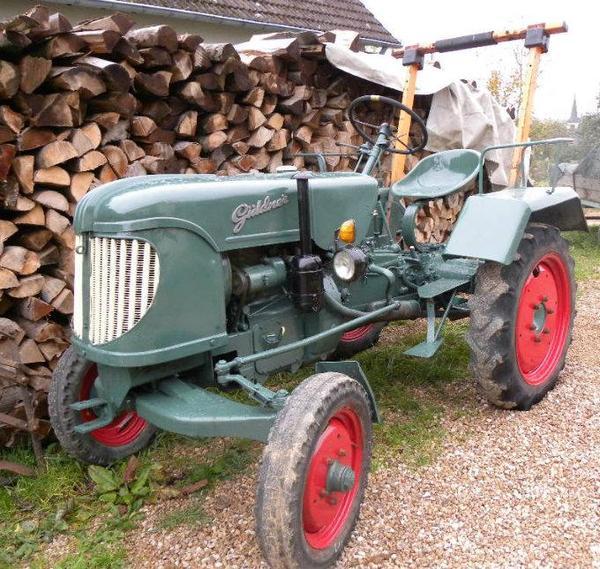 schlepper traktor g ldner aus 2 hd 12 ps bj 55 in. Black Bedroom Furniture Sets. Home Design Ideas