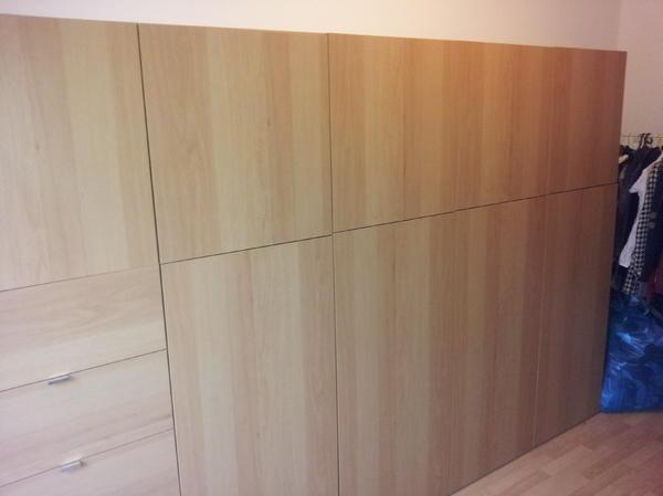 schrank von ikea besta serie in berlin schr nke sonstige schlafzimmerm bel kaufen und. Black Bedroom Furniture Sets. Home Design Ideas