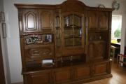 wohnwand eiche rustikal p 43 teilmassiv in n rnberg wohnzimmerschr nke anbauw nde kaufen und. Black Bedroom Furniture Sets. Home Design Ideas