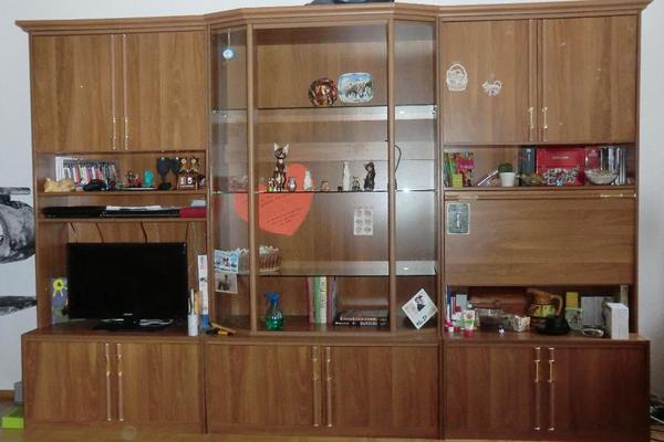 schrankwand wohnwand neu und gebraucht kaufen bei. Black Bedroom Furniture Sets. Home Design Ideas