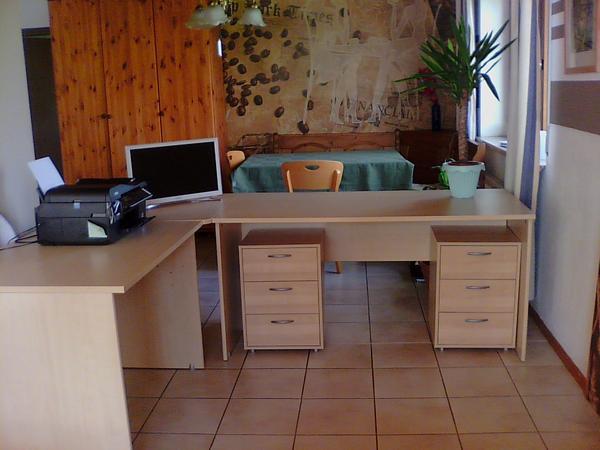 Schreibtisch neu und gebraucht kaufen bei for Schreibtisch in l form