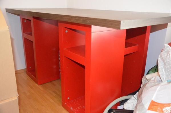 schreibtisch ikea arbeitsplatte. Black Bedroom Furniture Sets. Home Design Ideas