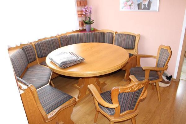 eckbank holz neu und gebraucht kaufen bei. Black Bedroom Furniture Sets. Home Design Ideas