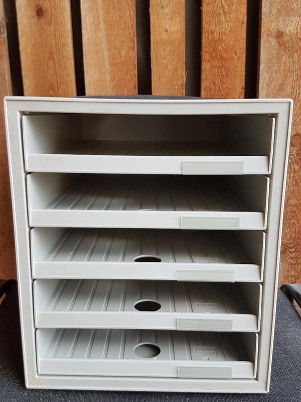 schubladenbox din a4 5 offene schubladen einzeln zu haben oder 11 st ck in tuchenbach. Black Bedroom Furniture Sets. Home Design Ideas