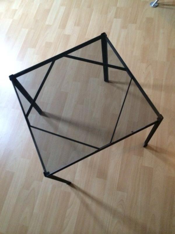 schwarzer glastisch wohnzimmertisch ikea like in reinheim couchtische kaufen und verkaufen. Black Bedroom Furniture Sets. Home Design Ideas