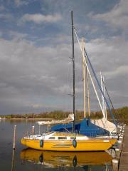 Schwedische Segelyacht Boatsman