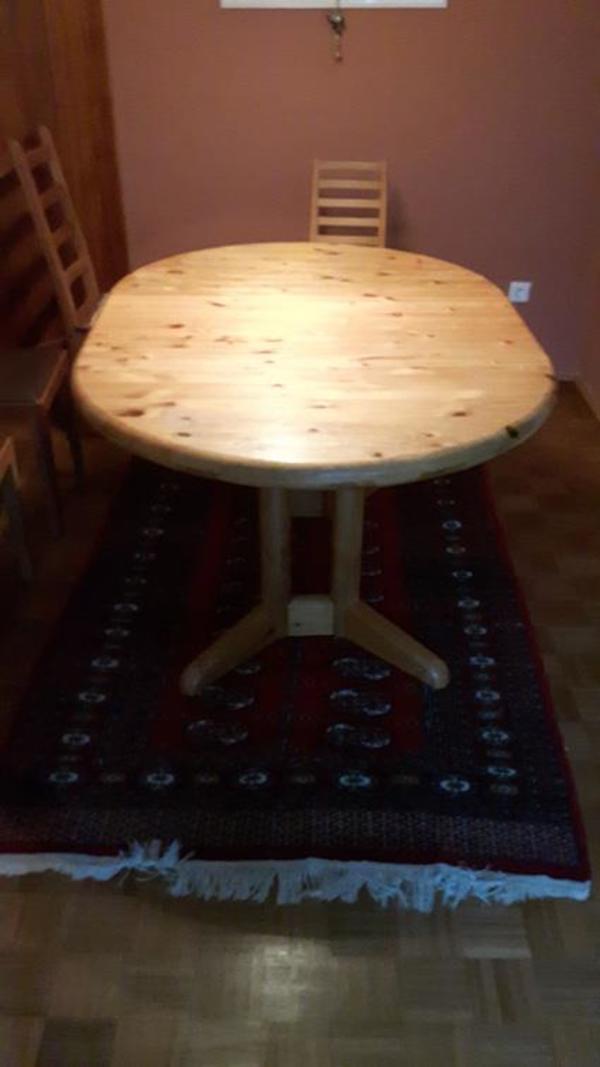 Sehr schöner ausziehbarer Holz-Esstisch gebraucht kaufen