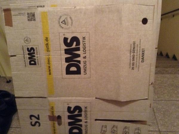 sehr stabile umzugkartons 7 st ck in m nchen umzugskartons verpackung kaufen und verkaufen. Black Bedroom Furniture Sets. Home Design Ideas