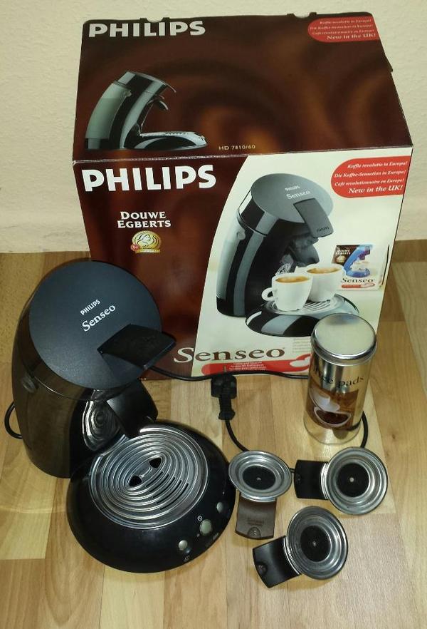 senseo kaffeepadmaschine kaffeemaschine in hamburg. Black Bedroom Furniture Sets. Home Design Ideas
