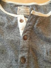 Shirt langarm grau