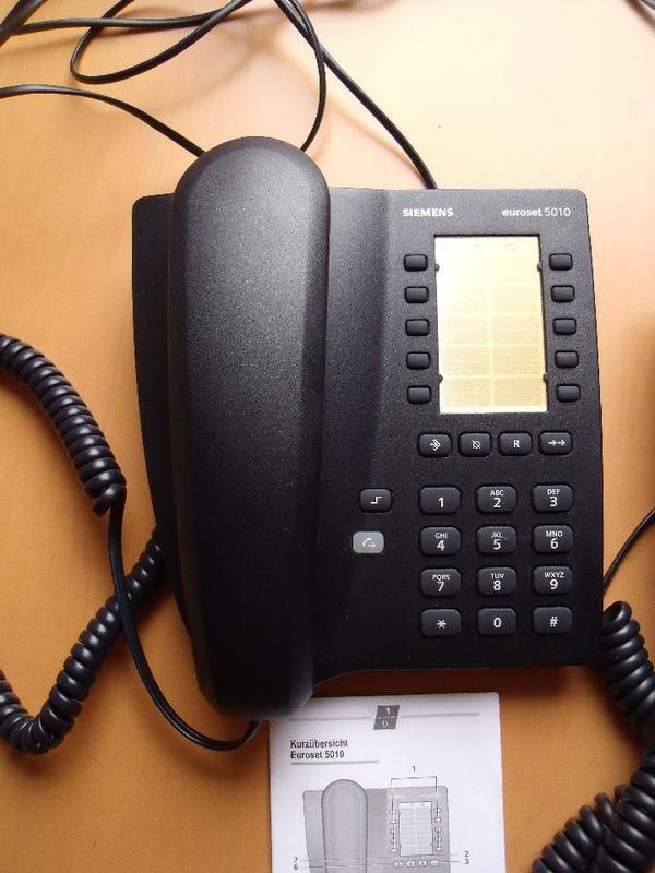 siemens euroset 5010 schnurgebundenes analoges telefon in oberhausen rheinhausen sonstige. Black Bedroom Furniture Sets. Home Design Ideas