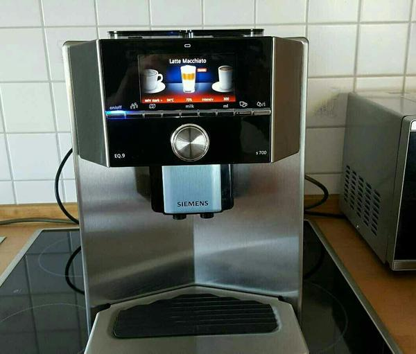 siemens ti 907501 de eq 9 kaffeevollautomat 2 mahlwerke 2. Black Bedroom Furniture Sets. Home Design Ideas