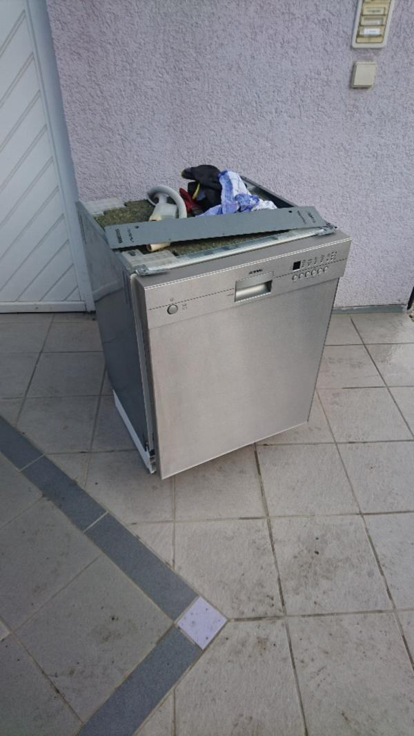 siemens unterbau geschirrsp ler komplett in edelstahl in pfinztal kaufen und verkaufen ber. Black Bedroom Furniture Sets. Home Design Ideas