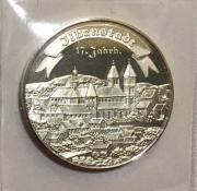 Silbermedaille Ilbenstadt, Perle