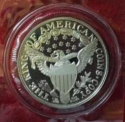 Silberunze 1 Dollar
