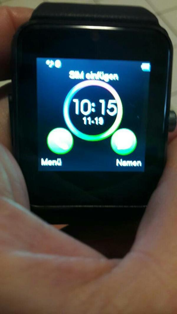 smartwatch mit sim und speicherkartenslot in bretten. Black Bedroom Furniture Sets. Home Design Ideas