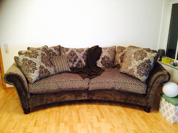 sofa couch bigsofa nostalgie vintage rundsofa chabby chic ecksofa eckcouch in falkensee. Black Bedroom Furniture Sets. Home Design Ideas
