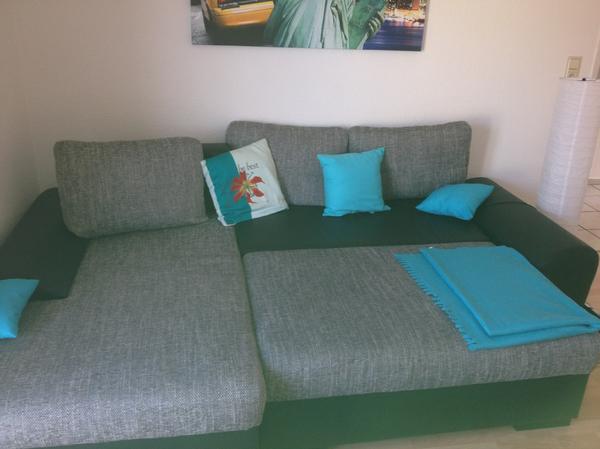sofa grau neu und gebraucht kaufen bei. Black Bedroom Furniture Sets. Home Design Ideas