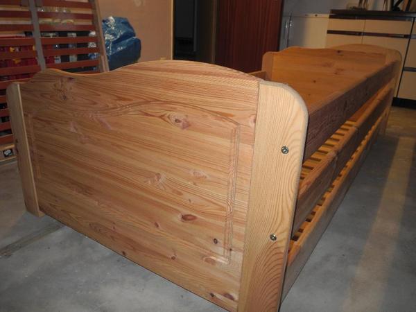 sofabett ausziehbett tandembett in zirndorf betten kaufen und verkaufen ber private. Black Bedroom Furniture Sets. Home Design Ideas