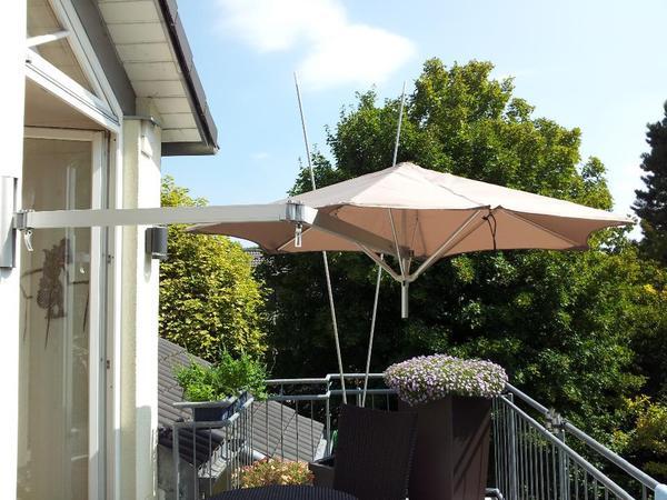 Sonnenschirm mit wandhalterung kleinanzeigen aus for Wandhalterung pflanzen