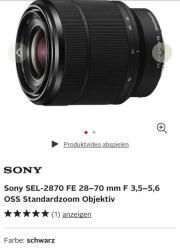 Sony Camera Alpha