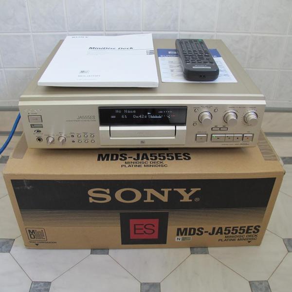 sony mds ja 555 es high end md recorder champagner gold esprit neuwertig in hannover. Black Bedroom Furniture Sets. Home Design Ideas