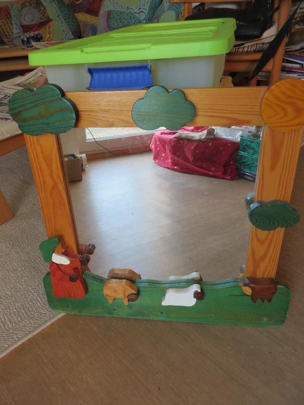 spiegel kinderzimmer gebraucht kaufen nur 3 st bis 60. Black Bedroom Furniture Sets. Home Design Ideas