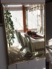 Spiegel mit facette