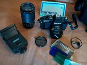 Spiegelreflex Kamera von