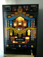 Spielautomat, Geldspielautomat Euro