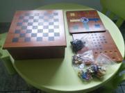 Spielsammlung aus Holz