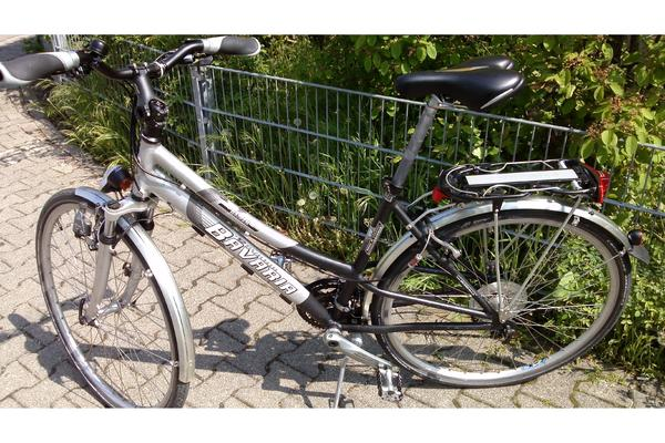 sportliches damenfahrrad trekking city bike 28 39 shimano. Black Bedroom Furniture Sets. Home Design Ideas