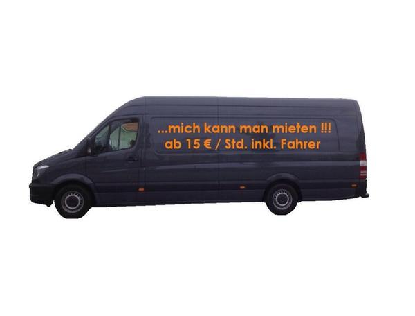 sprinter xxl transporter inkl fahrer mieten in schwabach kleinbusse transporter kaufen und. Black Bedroom Furniture Sets. Home Design Ideas