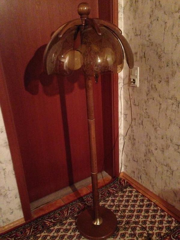 stehlampe eiche kaufen gebraucht und g nstig. Black Bedroom Furniture Sets. Home Design Ideas