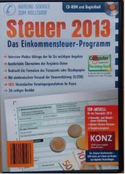 Steuerprogramm Steuer 2013