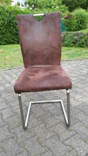 Stühle / Freischwinger Hochlehner