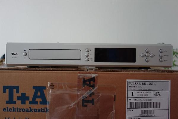 T+A BD 1260 R High-End Blu-Ray Player_BD1260R_ in ...